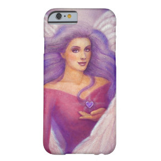 Amethyst Heart Angel iPhone 6 Case Barely There iPhone 6 Case