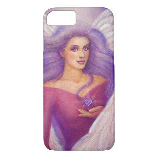 Amethyst Heart Angel iPhone 7 Case