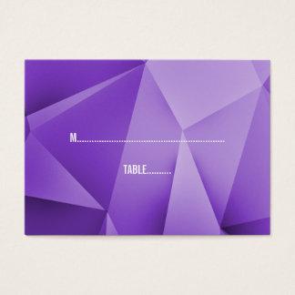 Amethyst Jewel Tones Wedding Place Cards