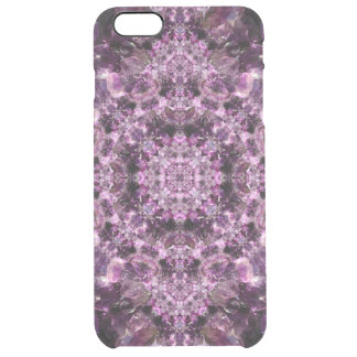Amethyst Mandala Clear iPhone 6 Plus Case