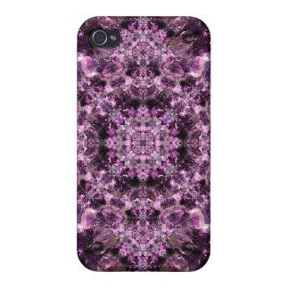 Amethyst Mandala iPhone 4/4S Cover