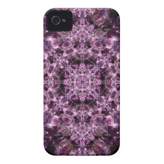 Amethyst Mandala iPhone 4 Case-Mate Cases