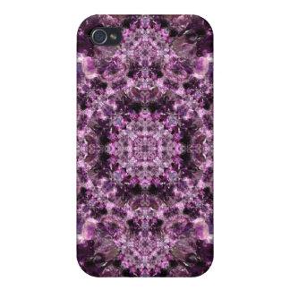 Amethyst Mandala iPhone 4 Covers