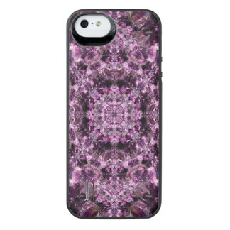 Amethyst Mandala iPhone SE/5/5s Battery Case