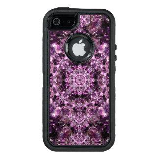 Amethyst Mandala OtterBox Defender iPhone Case