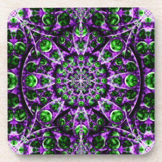 Amethyst Portal Mandala Coaster