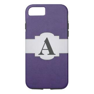 Amethyst Purple Color Velvet Custom Home Casino iPhone 7 Case