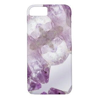 Amethyst Purple Gemstone Crystalline Quartz iPhone 8/7 Case