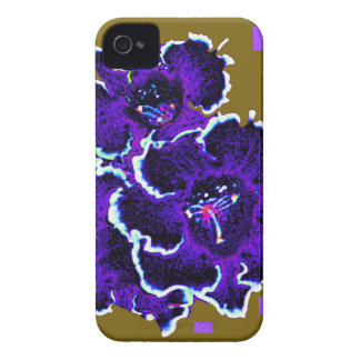 Amethyst Purple Gloxinia gigts By Sharles Case-Mate iPhone 4 Case