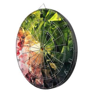 Amethyst Rainbow Dartboard