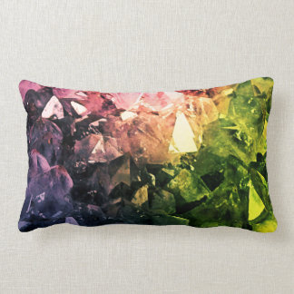 Amethyst Rainbow Lumbar Cushion