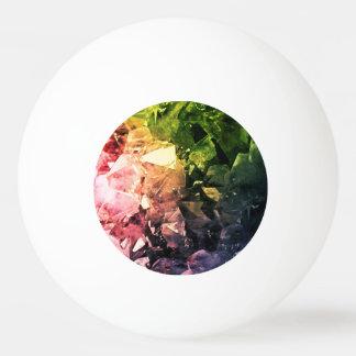 Amethyst Rainbow Ping Pong Ball