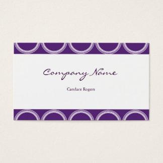 Amethyst Rivets Business Card