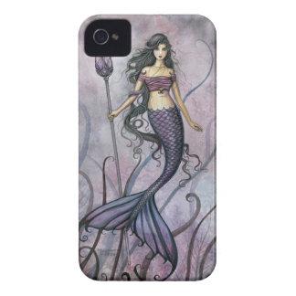 Amethyst Sea Fantasy Mermaid Art iPhone 4 Case-Mate Cases