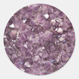 Amethyst Semi Precious Stone Stickers