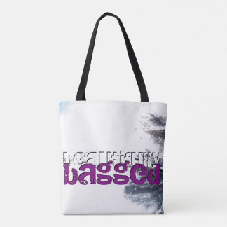 Amethyst Snow Tote Bag