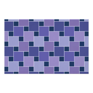 Amethyst Squares Stationery Paper