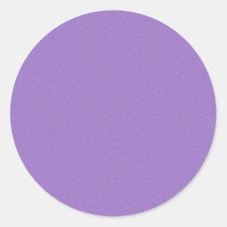 Amethyst Star Dust Classic Round Sticker