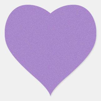 Amethyst Star Dust Heart Sticker