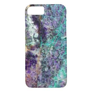 amethyst stone texture pattern rock gem mineral am iPhone 7 case