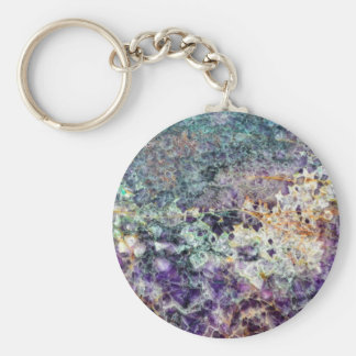 amethyst stone texture pattern rock gem mineral am key ring