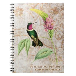 Amethyst Throated Hummingbird Notebook