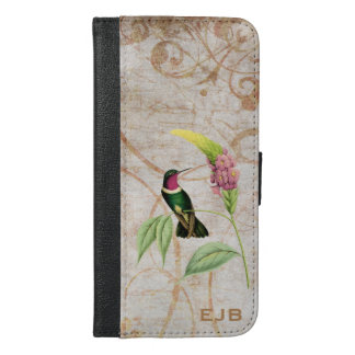 Amethyst Throated Sun Angel Hummingbird iPhone 6/6s Plus Wallet Case