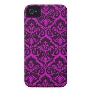 Amethyst Victorian Damask iPhone 4 Case