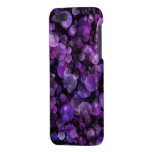 Amethyst Violet Purple Abstract Bokeh Circles iPhone 5/5S Case