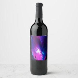 Amethyst Winter Sky Wine Label