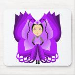Ametrine Butterfly Princess Mousemat
