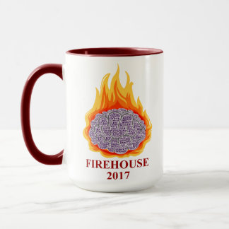 AMF Flaming Brain Mug