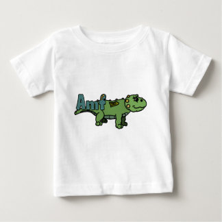 Amf (with name) baby T-Shirt