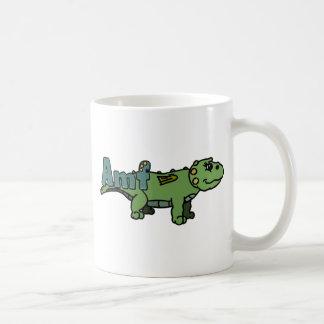 Amf (with name) basic white mug