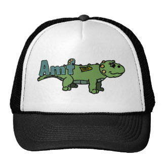 Amf (with name) cap