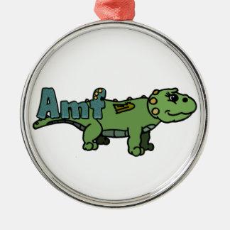 Amf (with name) christmas ornament