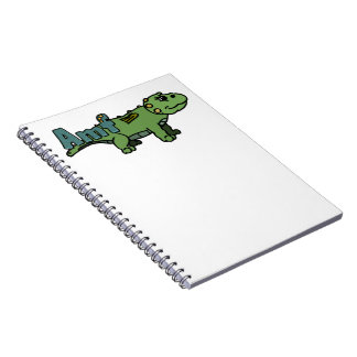 Amf (with name) spiral notebook