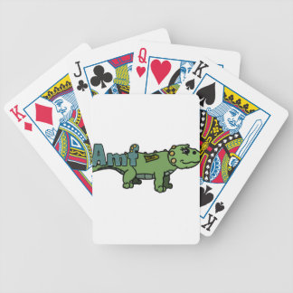 Amf (with name) poker cards
