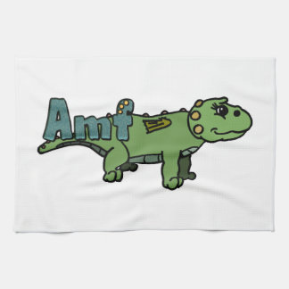 Amf (with name) kitchen towels