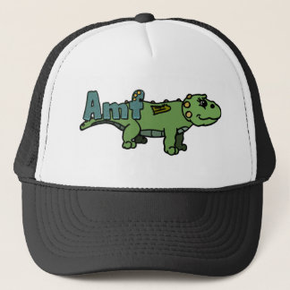 Amf (with name) trucker hat