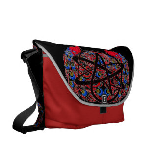 Amiable Atheist Peacock Commuter Bag
