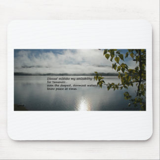 Amicability Mouse Pad