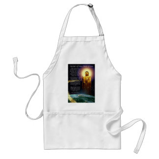 Amida's Golden Chain of Love 1 Standard Apron