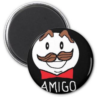 AMIGO, FRIEND 6 CM ROUND MAGNET