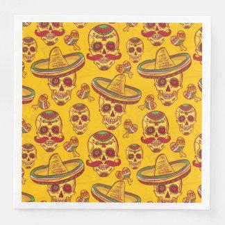 Amigo Skulls Disposable Napkin