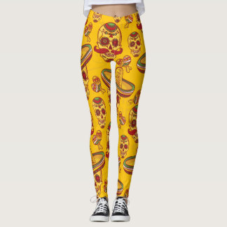Amigo Skulls Leggings