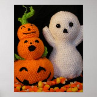 Amigurumi Halloween Poster