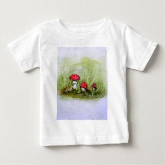 Aminita Muscaria mushroom Baby T-Shirt
