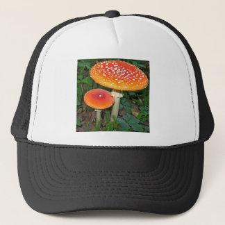 Aminita Muscaria mushroom Trucker Hat