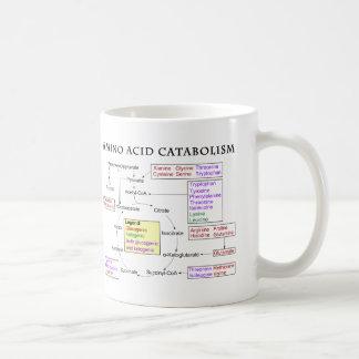Amino Acid Catabolism Diagram Coffee Mug